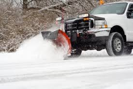 North Jersey Landcare Snow Plowing Truck